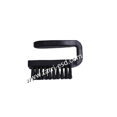 U shaped ESD brush