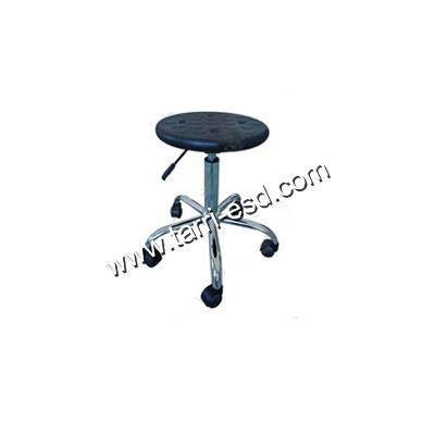 Foaming PU ESD round chair