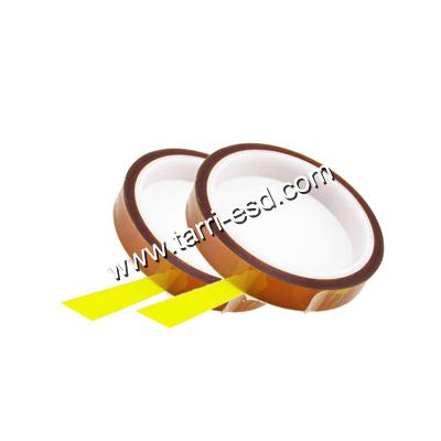 Double sided ESD polyimide tape